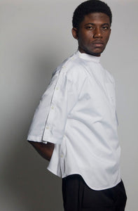 Horizontal Placket Dress Shirt