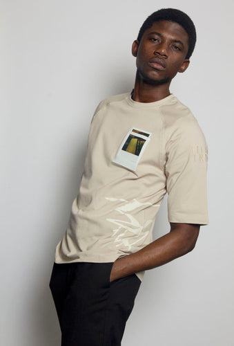 Photo Pocket Tee - SEPIA