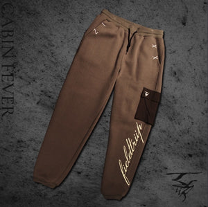 NIMBOSTRATUS - Sueded Cotton Fleece Sweatpant