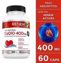 Load image into Gallery viewer, CoQ10 Ubiquinone  - 60 Capsules