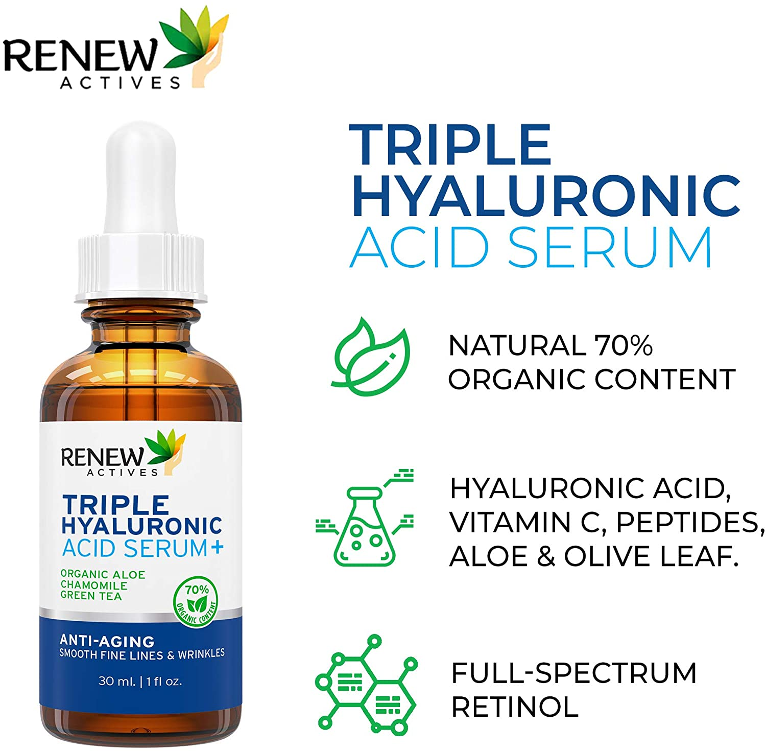 Hyaluronic Acid Serum: Hyaluronic Acid Serum for Face