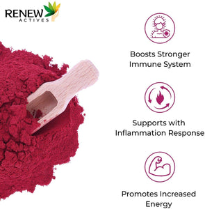Organic Beetroot Powder Extract 1300mg Supplement