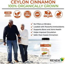 Load image into Gallery viewer, Organic Ceylon Cinnamon  - 60 Capsules