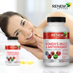 Women's Daily Vitamin & Antioxidant - 60 Capsules