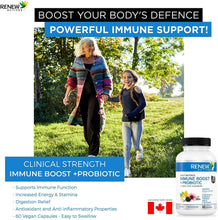 Load image into Gallery viewer, Immune Boost & Probiotics - 60 Capsules
