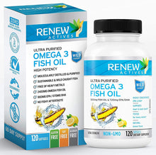 Load image into Gallery viewer, Omega-3 Fish Oil - 120 Softgels