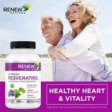 Load image into Gallery viewer, Resveratrol W. 50% Trans Resveratrol - 60 Capsules