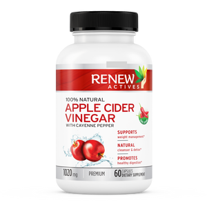 Apple Cider Vinegar & Cayenne Pepper - 60 Capsules