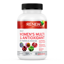 Load image into Gallery viewer, Women's Daily Vitamin & Antioxidant - 60 Capsules