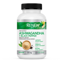 Load image into Gallery viewer, Organic Ashwagandha W. Black Pepper - 120 Capsules