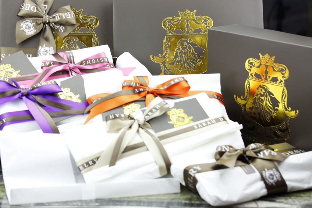Gift Wrapping service included in every orders at check out