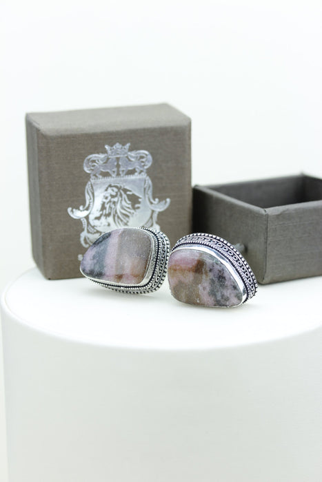 Rhodonite Cufflinks k385