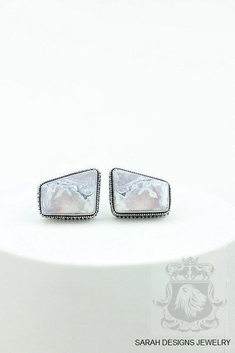 Bertrandite Tiffany Jasper Cufflinks K679