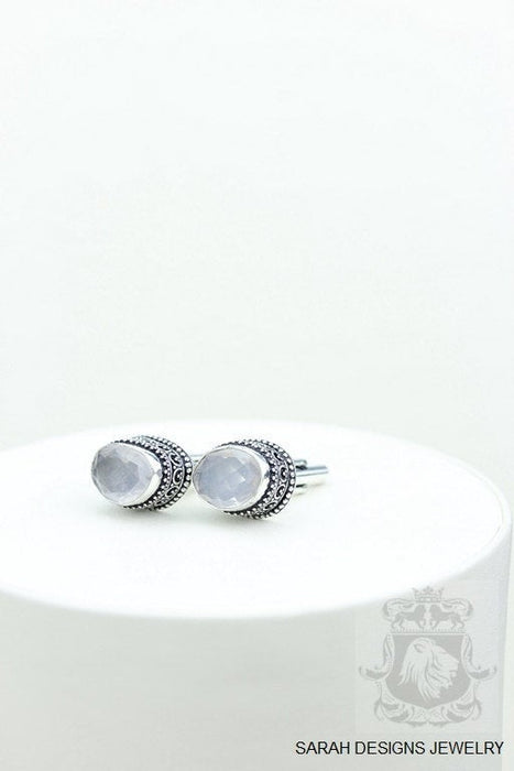 Rose Quartz Cufflinks k354
