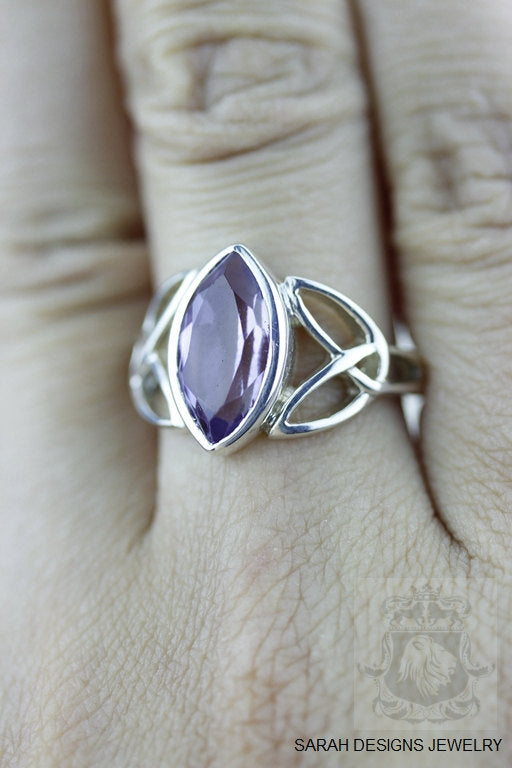 Size 6.5 Amethyst Sterling Silver Ring r534