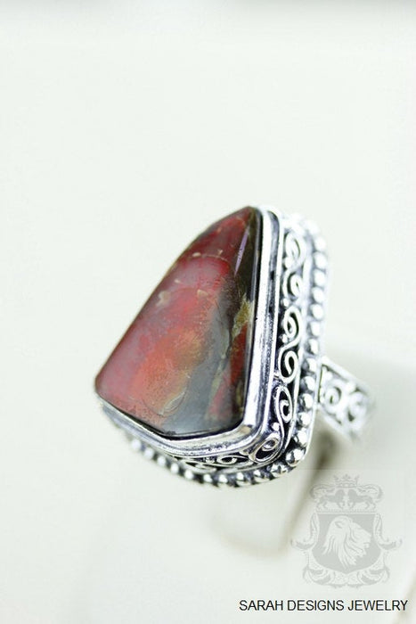 Size 6 Ammolite Sterling Silver Ring R1606