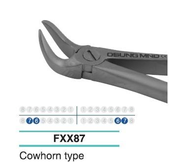 Adult Extraction Forcep, Lower 76-67 - Osung USA