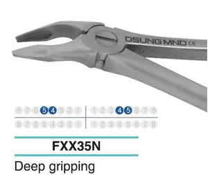 Adult Extraction Forcep, Lower 54-45 - Osung USA