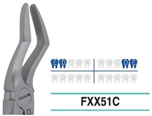 Extraction Forcep, Child/Pedo, FXX51C - Osung USA