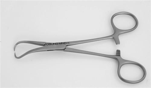Backhaus Towel Clamp, 135mm, CPTC135 - Osung USA