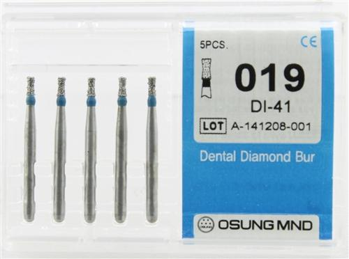 Diamond Burs, Double Inverted Cone Shape, Std Grit Multi-Use 019Di-41 - Osung USA