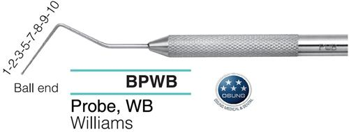 Dental Ball End Probe, BPWB - Osung USA