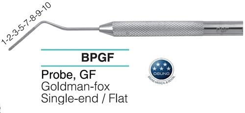 Dental Probe, Flat, PGF - Osung USA