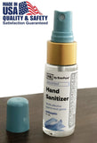Hand Sanitizer Disinfectant Spray 1oz Bottles - 99.9% effective against most germs - Osung USA