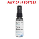 Hand Sanitizer Disinfectant Spray 1oz Bottles - 99.9% effective [USA Made] - 10 pcs - Osung USA