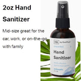 Hand Sanitizer Disinfectant Spray 2oz Bottles - 99.9% effective [USA Made]  - 10 pcs - Osung USA