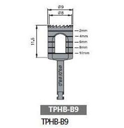 Dental Implant Trephine Bur, THB90 - Osung USA