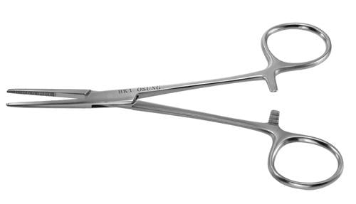 Kelly Hemostat, Straight, 5 1/2