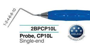 Dental Probe, Autoclavable Silicone Handle, PCP10L - Osung USA