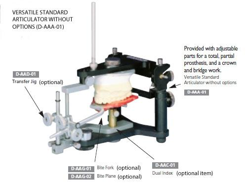 Versatile Dental Articulator (articulator only), D-AAA-01 - Osung USA