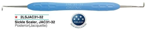 Osung 2Lsjac31-32  Sickle Scaler Jacquette Jac 31/32 Periodontal Tool, 2LSJAC31-32 - Osung USA