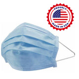 [Made in USA] Surgical 3 ply Face Masks, ASTM Level 3, Earloop, 50/Box - Osung USA
