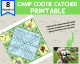 Kids Printable Camp Game: Camp Cootie Catcher