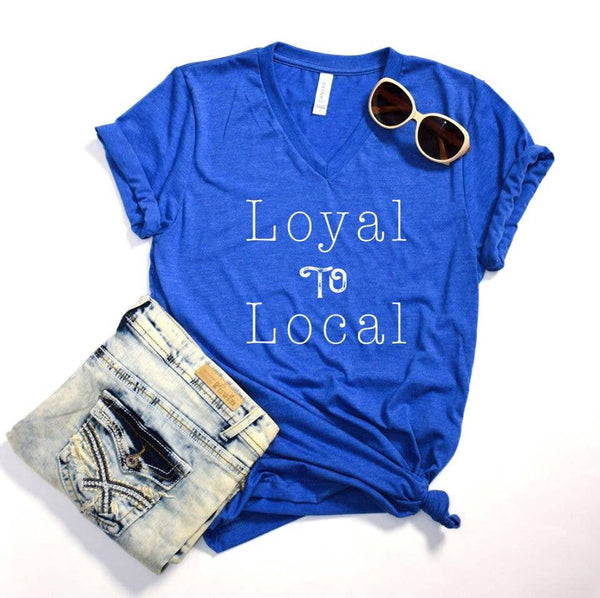 Loyal to Local V-Neck