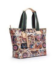 Load image into Gallery viewer, RACHEL ZIPPER TOTE