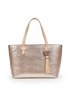 ROSE BIG BREEZY EAST/WEST TOTE
