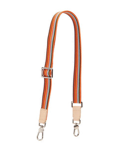 ORANGE SLIM WEBBING CROSSBODY STRAP