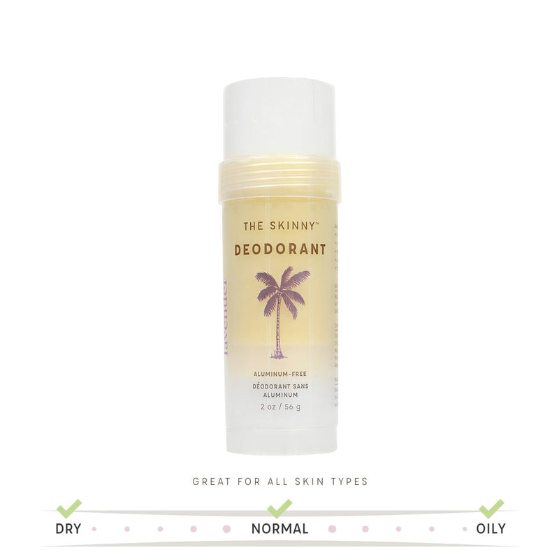 Lavender Deodorant - Powerfully Active Natural Deodorant