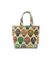 Load image into Gallery viewer, SUGAR SKULL MINI GRAB 'N' GO BAG