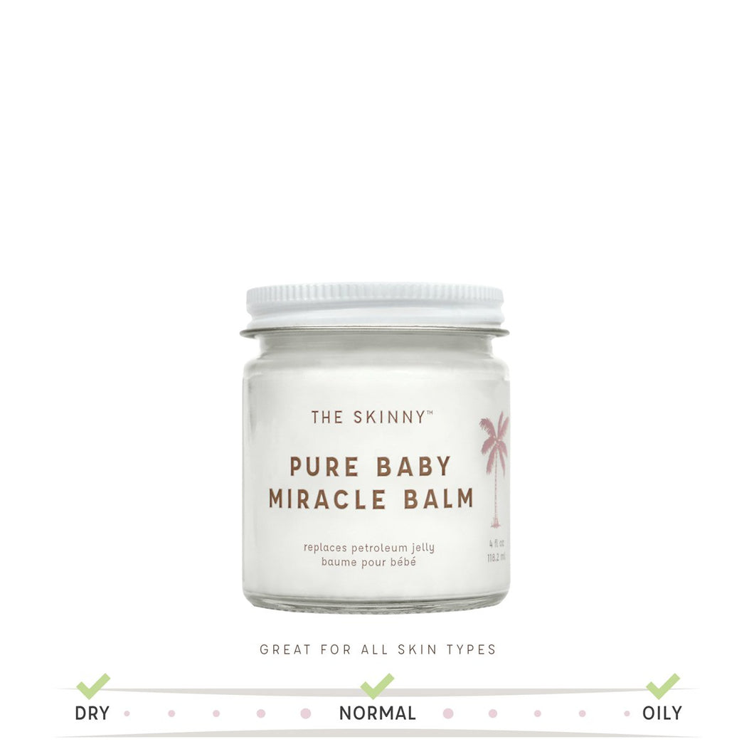 Pure Baby Miracle Balm - Soothing Care for Baby and Mom - 4 oz