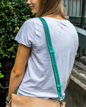 Load image into Gallery viewer, TURQUOISE CROSSBODY STRAP