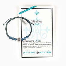 Load image into Gallery viewer, A Mother's Love Blessing for My Son Bracelet