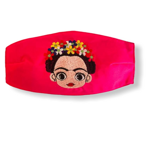FRIDA PINK ADULT PUEBLA FACE MASK