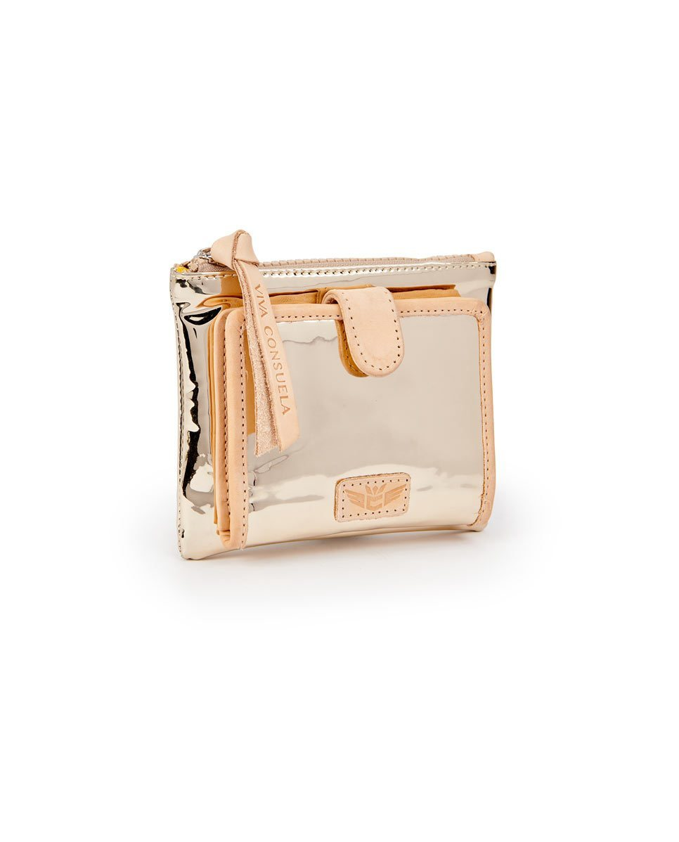 GOLDIE TEENY SLIM WALLET