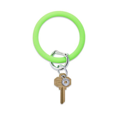 BIG O SILICONE KEY RING - IN THE GRASS
