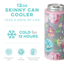 Load image into Gallery viewer, GARDEN PARTY 12OZ SKINNY CAN COOLER